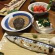 21日夜は  魚屋の秋刀魚