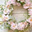 春を呼ぶ「桜の花のリース」
