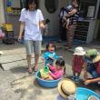 水遊び 絵の具遊び  2017