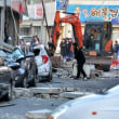 浦項地震と住宅全壊
