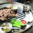 振り返り 韓国旅行 2008年9月 3日目 その2 東大門を散歩 初めてのドラム缶焼き肉にドキドキ