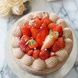 イチゴとチョコのデコケーキ♪