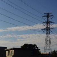 10月18日、午前6時過ぎの空模様