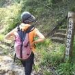 名水くんで、藪こぎの金比羅山へハイキング