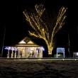 南阿蘇鉄道。冬の見晴台駅。