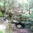 森の中、洞窟の淵にて・・・