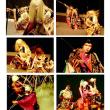 広島神楽定期公演 第23回 高井神楽団 上演終了後の撮影会想定外の盛り上がり!女性ファンに大人気の高井神楽団!私も大好き!