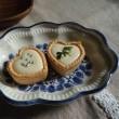 マシュマロで簡単レアチーズタルトととんぼ玉。