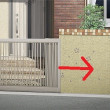 ドア、引き戸に続く第三の門扉 伸縮門扉