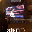 バトミントン観戦@スポーツバー(スリウォン通りととラマ四通りの角のバー)