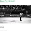 【Thank You #Grateful】ミーシャ・ジーさんのお辞儀(フィギュアスケート)【ありがとう*感謝】