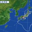 台風5号接近