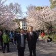 南京林業大学日語科、講演 文学の影響