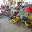 土曜保育 異年齢児 体育館下活動