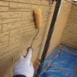 寒川町宮山で外壁屋根塗装工事です④クリヤー塗装工事(^^)/ぬりいち