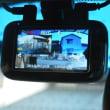 リアカメラ付きドライブレコーダを取り付けました!