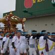 下立松原神社のお神輿(青柳周辺にて)