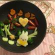 2歳 お誕生日野菜プレート🥦