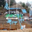 水戸城大手門の瓦塀・最後のお披露目