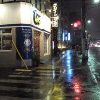 激しい雨だった