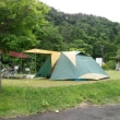 湯島オートキャンプ場なう