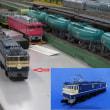 EF60形とEF65形電気機関車