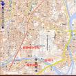 世界津波の日(11月5日)川を越えずに避難する訓練。宮城県多賀城市の桜木地区