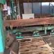 練馬区から工務店さんが欅と樫の板を持ち込みで賃挽き製材