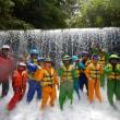月例スクール「バシャバシャの川遊び」