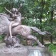 井の頭自然文化園内彫刻園で児玉源太郎の騎馬像を見る