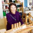 浜松のおばちゃんが手織り体験にやって来た