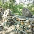 岩根山、肝川神への道