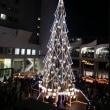 ドイツ・クリスマスマーケット大阪  クリスマスツリーの点灯時間
