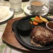サラダバー付きハンバーグランチ「洋食じゅり」