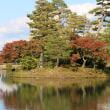 秋の兼六園 ①桜ケ岡、霞ケ池
