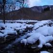 厳寒の福地温泉郷