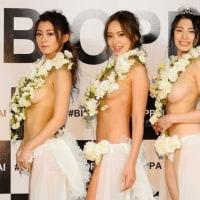 美しいオッパイ日本一 女性蔑視の声は