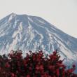 お月様と富士山
