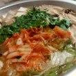 秋鮭の味噌鍋