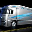 韓国の現代自動車、新FCVトラックのイメージ公開。