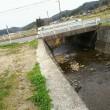 大阪平野の二大河川の淀川と大和川への分岐地点