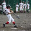 【野球部】平成29年度静岡市民静岡地区中学校軟式野球大会(新人戦)