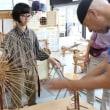 東京から手織り体験に来ました   竹島クラフトセンター