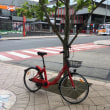 放置自転車