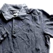 パリつれづれなるまま に買い付け-1486/agnès b HOMME chemise polo en coton noir