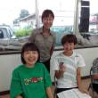 ご近所健康づくりの会(大島団地集会所)に若い見学者