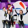 <平昌オリンピック 日本>パシュート女子 五輪新で金メダル