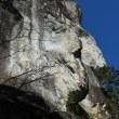 乳岩の巨岩は絶景だった