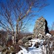 初冬の手稲山