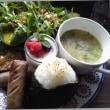 オーガニック野菜たっぷりの ランチ (#^^#)
